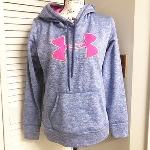 Under Armour Hoodie Sweater Pink Purple Size M